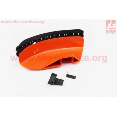 Защита ножа пластмассовая с резинкой (лопух) Stihl FS-44/55/80/90/100/130/310/450 [Китай]
