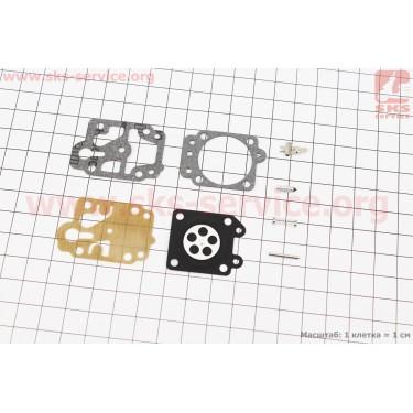 Ремонтный комплект карбюратора ОLEO MAC SPARTA 25, 8 деталей [Китай]