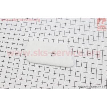 Фильтр воздушный - элемент, войлок Husqvarna 125R/128R [Китай]