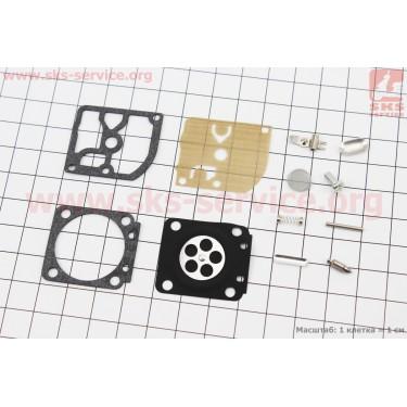 Ремонтный комплект карбюратора MS-170/180, 12 деталей [NOKER]