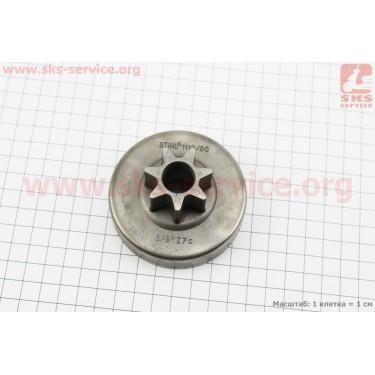 "Тарелка сцепления ""звезда"" 3/8-7 MS-380/381 [Китай]"