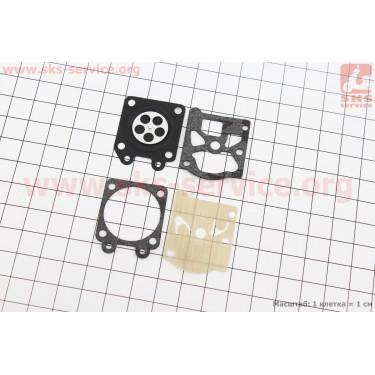 Ремонтный комплект карбюратора 4500/5200, 4 детали [NOKER]