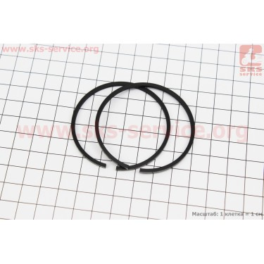 Кольца поршневые к-кт 2шт 55мм УРАЛ, ПОЛЬША [MOTUS]
