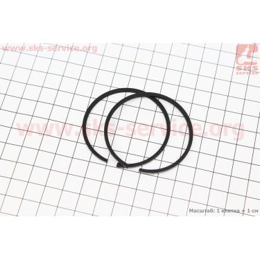 Кольца поршневые к-кт 2шт 50мм ТАЙГА, ПОЛЬША [MOTUS]