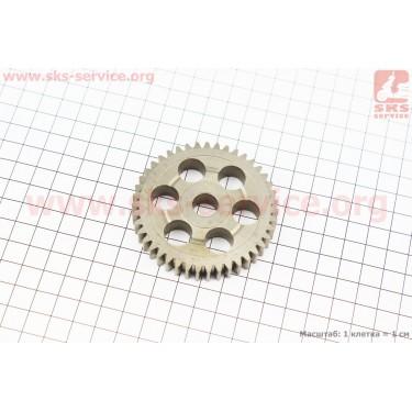 Шестерня метал (D=67,5мм, d=12мм, H=11мм, Z=44) Makita UC3020A. (Код. 227154-0) [Китай]