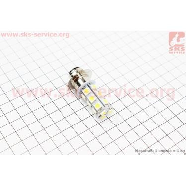 Лампа фары диодная P15D-25-3 - LED-18 [Китай]