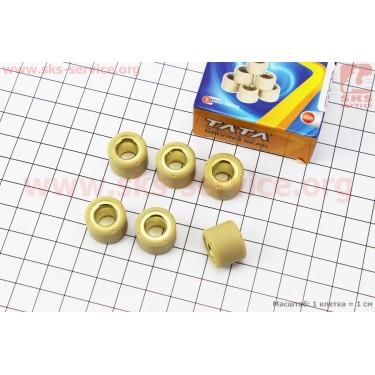 Ролики вариатора 6шт, Honda/GY6 16*13 - 8,5г [TATA]