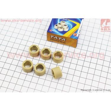 Ролики вариатора 6шт, Suzuki 17*12 - 5,5г [TATA]
