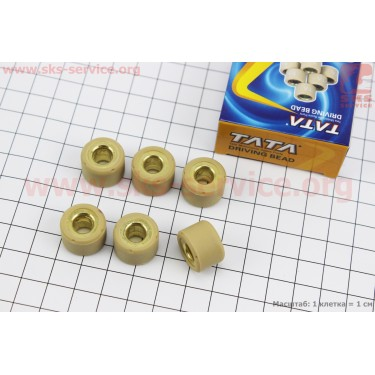Ролики вариатора 6шт, Suzuki 17*12 - 11г [TATA]