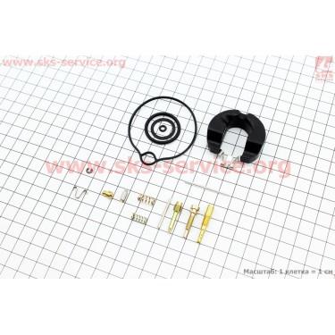 Ремонтный комплект карбюратора Honda DIO 50, 14 деталей+поплавок [Китай]