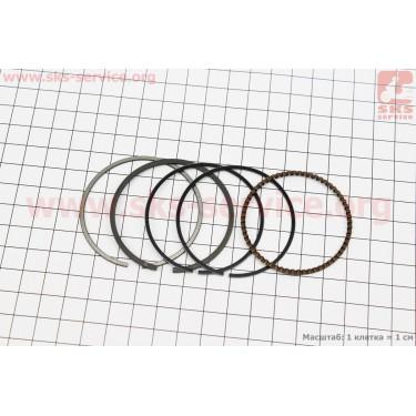 Кольца поршневые 125cc 52,4мм +0,50 [Taiwan]