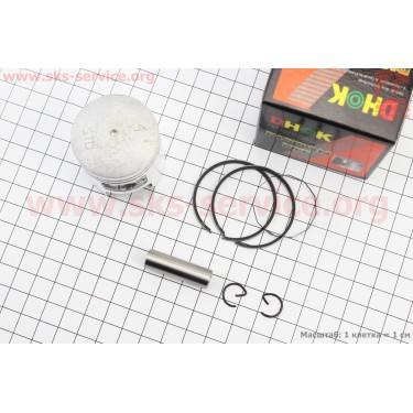 Поршень, кольца, палец к-кт 50сс 41мм STD (палец 10мм) [DHOK]