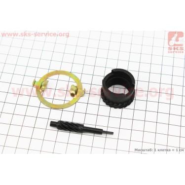 Шестерня привода спидометра к-кт  2 шт модель 2 [Китай]