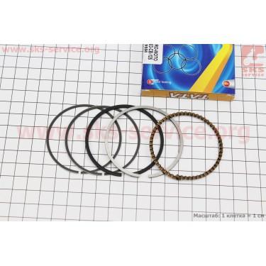 Кольца поршневые СВ125сс 56,5мм STD [TATA]