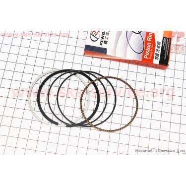 Кольца поршневые СВ150сс 62мм STD [FENGRI]