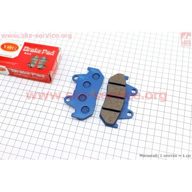 Тормозные колодки (дисковые) CBT-125/ Honda WH-125 [YOG]