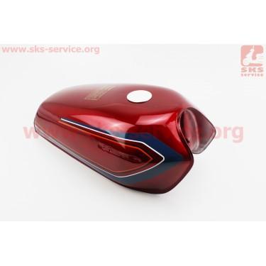 Бак топливный Viper V125 S SAFARI / Zhongyu ZY125, красный [Китай]