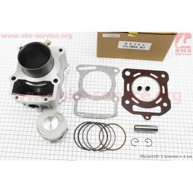 CG250-OHV Цилиндр к-кт (цпг) 250cc - 67мм - водяное охлаждение (палец 16мм) [BAJAJ]