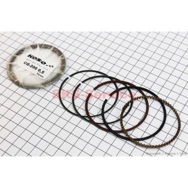 Кольца поршневые 200cc 63,5мм +0,50 [KOSO]