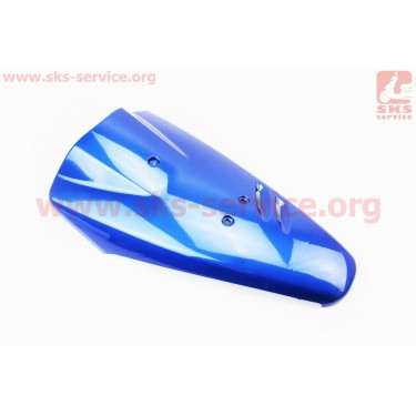 """Honda DIO AF-27/28 пластик - передний верхний """"клюв"""" СИНИЙ [Китай]"""