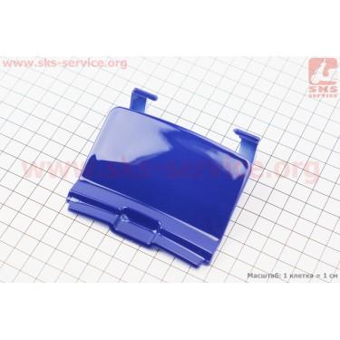 Honda DIO AF-27/28 пластик - задний верхний (где крышка бака), СИНИЙ [Китай]