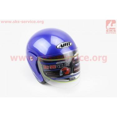 Шлем открытый АТ-612 - СИНИЙ [AIBT]