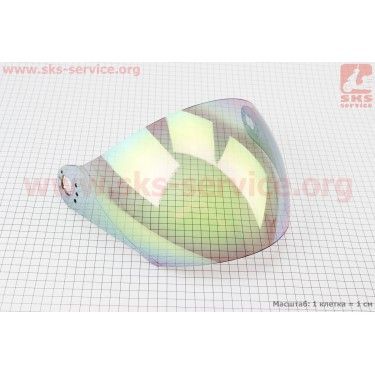 Стекло для шлема HF-210/HF-613 [Mototech]