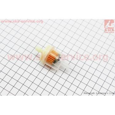 Фильтр топливный прозрачный с магнитом большой (элемент - бумага) тип, 2 [Китай]