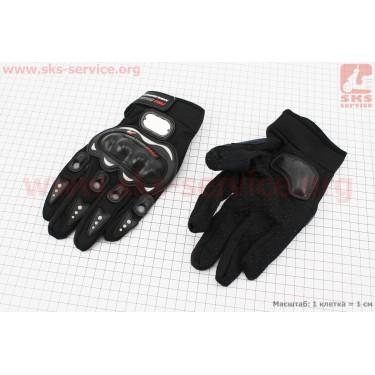 Перчатки XL-черные [PRO BIKER]