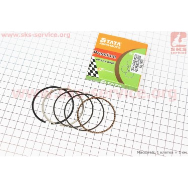 Кольца поршневые 110сс 52,4мм STD [TATA-Premium]