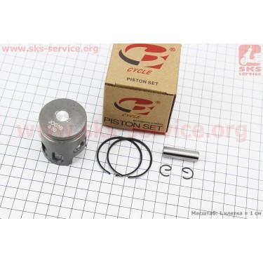 Поршень, кольца, палец к-кт Yamaha JOG50 40мм +0,50 (палец 10мм) [B-cycle]