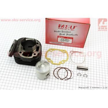 Цилиндр к-кт (цпг) Honda DIO ZX/AF34 80cc-48мм (палец 12мм)  (AF35  DIO ZX; AF48 LEAD) [MSU]