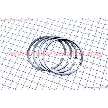 Кольца поршневые к-кт 4шт Юпитер, Муравей STD 62,00мм [Китай]