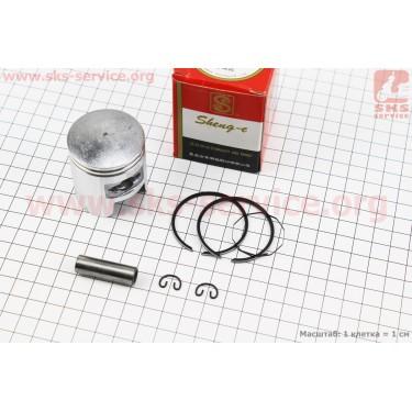 Поршень, кольца, палец к-кт Honda TACT (SA50) 41мм +0,25 красная коробка (палец 10мм) [SEE]