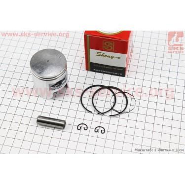 Поршень, кольца, палец к-кт Honda TACT (SA50) 41мм +0,50 красная коробка (палец 10мм) [SEE]