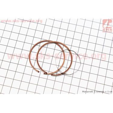 Кольца поршневые Yamaha JOG65 44мм + 0,25 [Mototech]