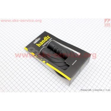 Ручки руля 130мм, черные VLG-1389 [VELO]