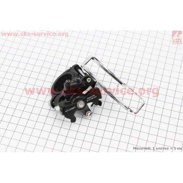 Перекидка цепи передняя с универсальной тягой, крепл. 28,6/34,9мм, под шатун 42T, FD-M20 [micro-SHIFT]
