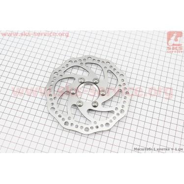 Тормозной диск 140мм, под гайку, тип 2 [Китай]