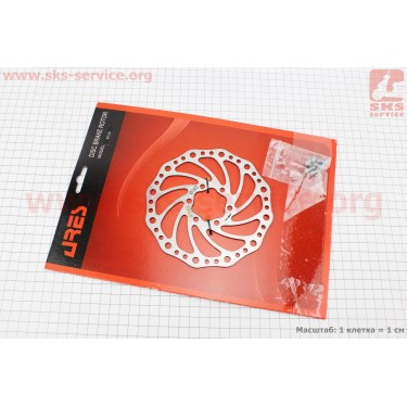 Тормозной диск 140мм, под 6 болтов, SC14 [ARES]