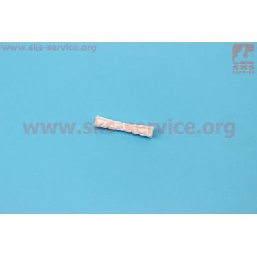 Защита рамы от рубашек тросов 42мм, силиконовая, белая [Китай]