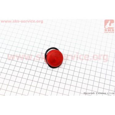 Фонарь задний 1 диод, красний [Китай]