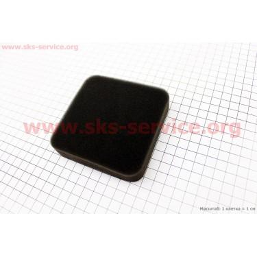 Фильтр воздушный - элемент (поролон 95х95х20мм) 168F/170F [Китай]