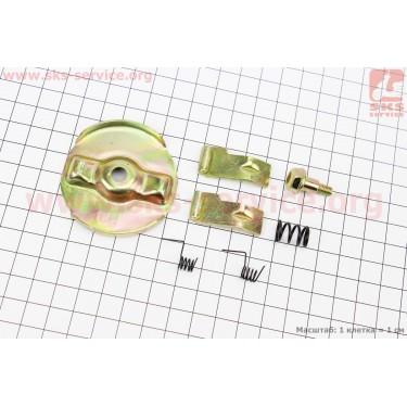 Ремонтный комплект ручного стартера (кулачок-2шт, пружина-3шт, болт, шайба) 168F/170F/173F/177F/182F/188F/190F [Китай]