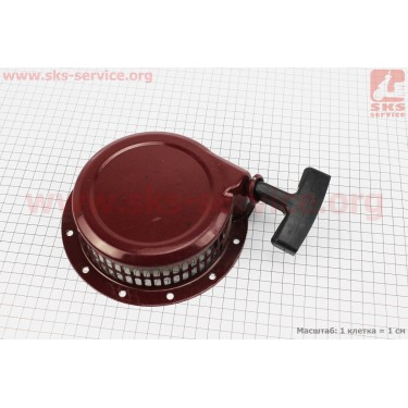 Стартер ручной в сборе 168F/170F Тип №3 [Китай]