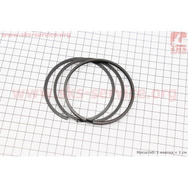 Кольца поршневые 186F 86мм +0,25 [ТАТА]