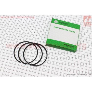Кольца поршневые 178F 78мм +0,25 [Viper]