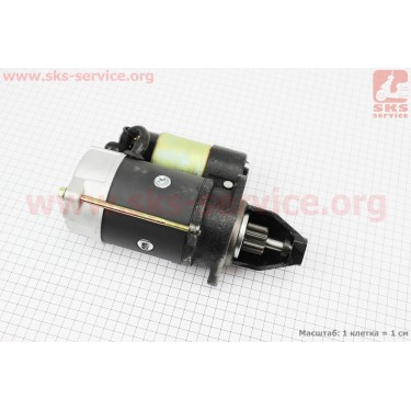 Стартер электрический Z=9, Ø=68,80мм R175A/R180NM [Китай]