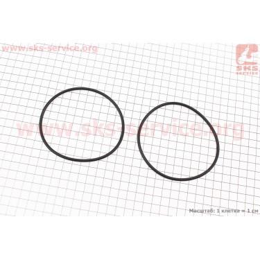 Кольцо (манжет) уплотнительное гильзы к-кт 2шт, черное R190N [Китай]
