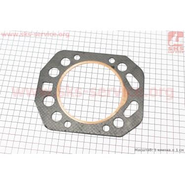Прокладка головки цилиндра R195NM (вн. кольцо с выступом, медное) [Китай]